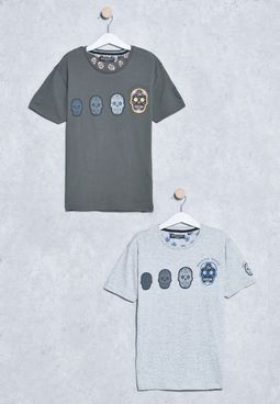 Youth 2 Pack Crew Neck T-Shirts