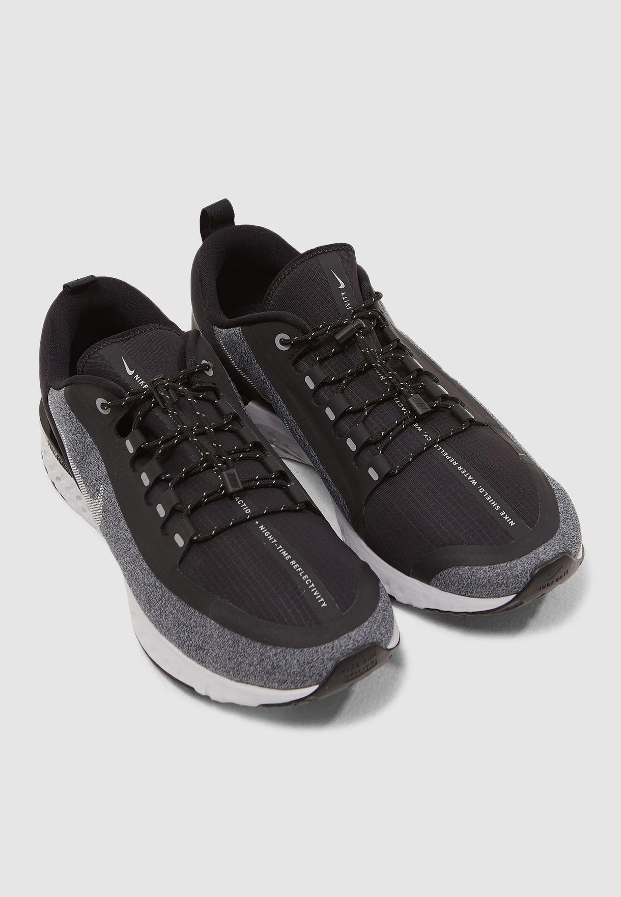 87a5087545355 Shop Nike black Odyssey React Shield AA1634-002 for Men in Kuwait ...