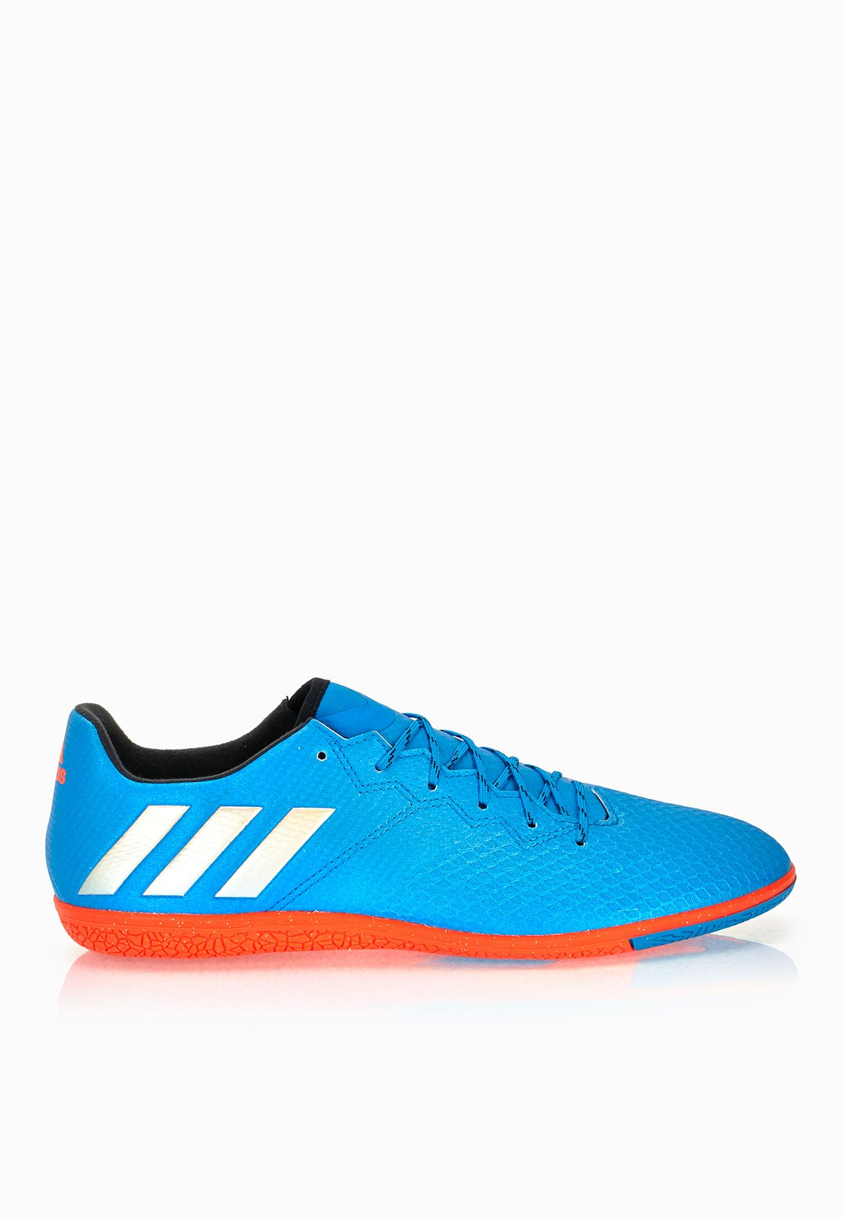 quality design 670b9 3cb20 Shop adidas blue Messi 16.3 IN S79636 for Men in UAE - AD476SH93OOS