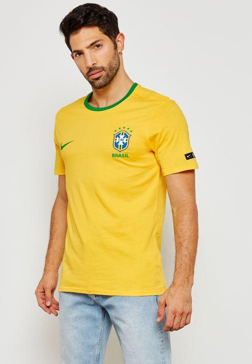 تيشيرت مزين بشعار الاتحاد البرازيلي لكرة القدم