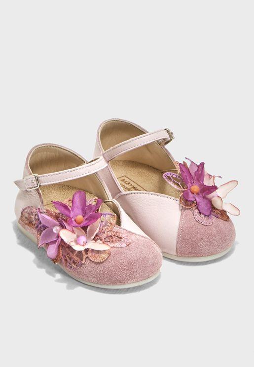 Kids Embellished Ballerina