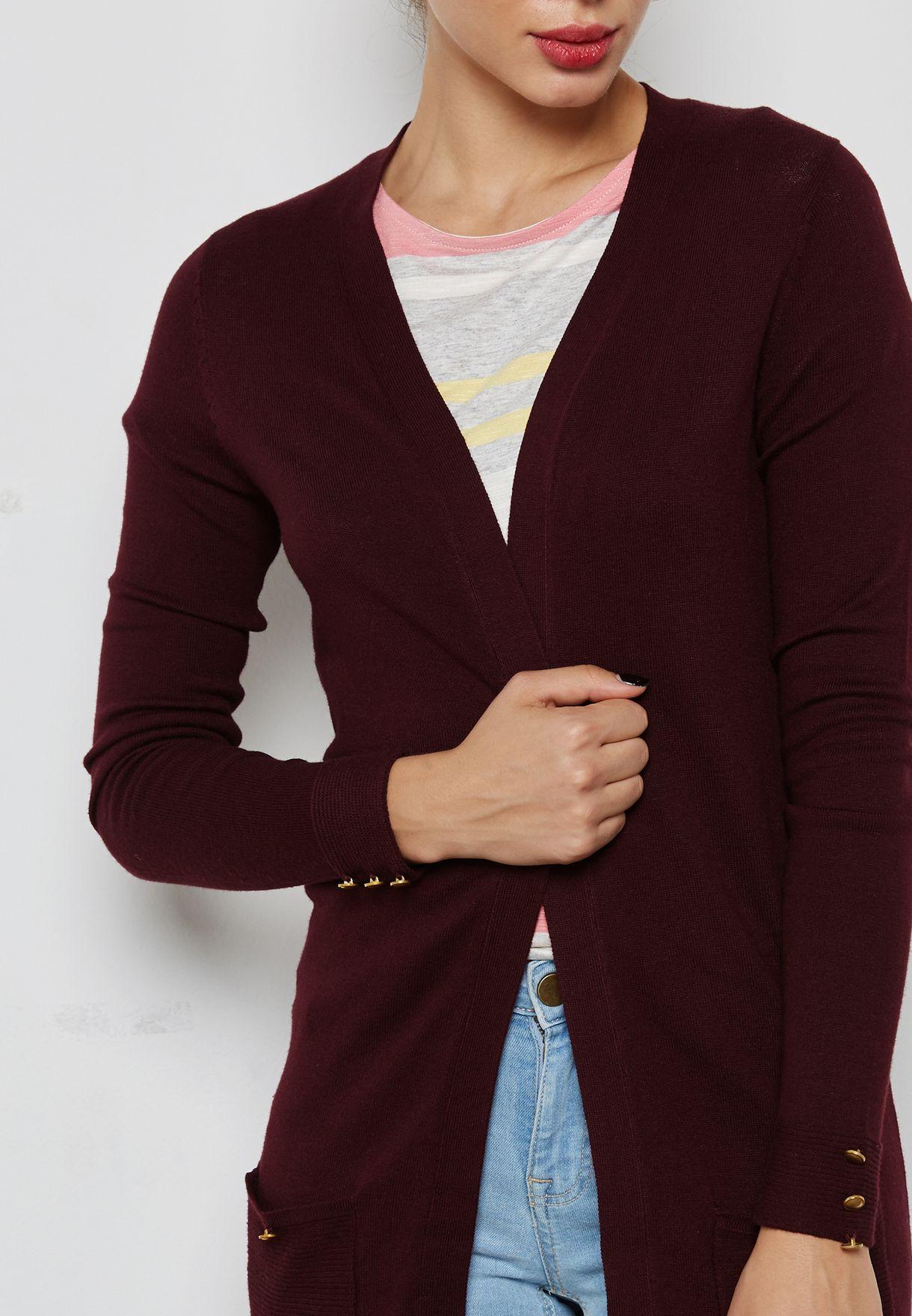 Longline Pocket Cardigan