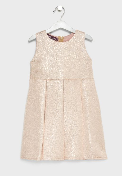 Little Shimmer Fit & Flare Dress