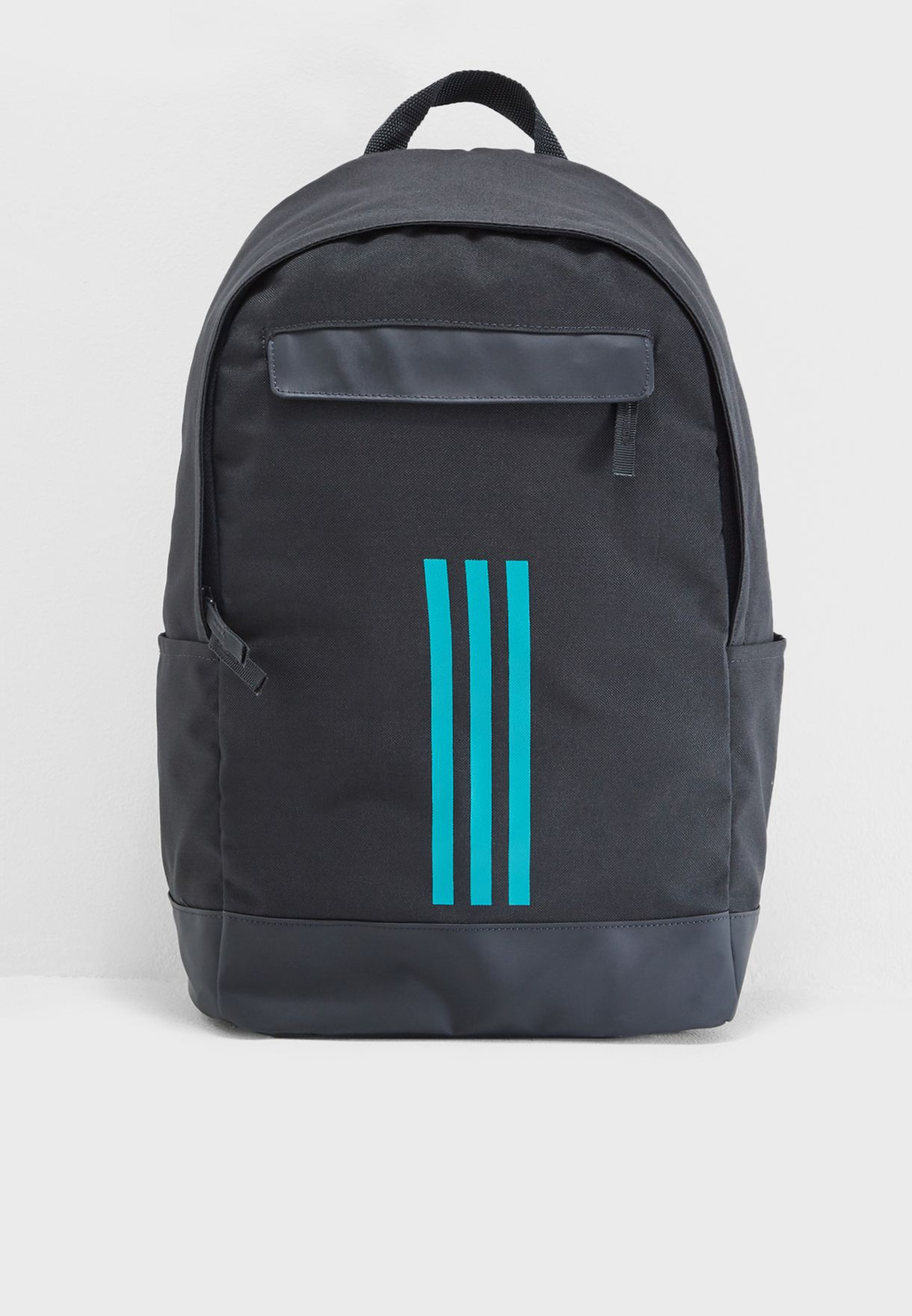 8f47df3f8c77 Shop adidas black 3 Stripe Classic Backpack DM7672 for Men in ...