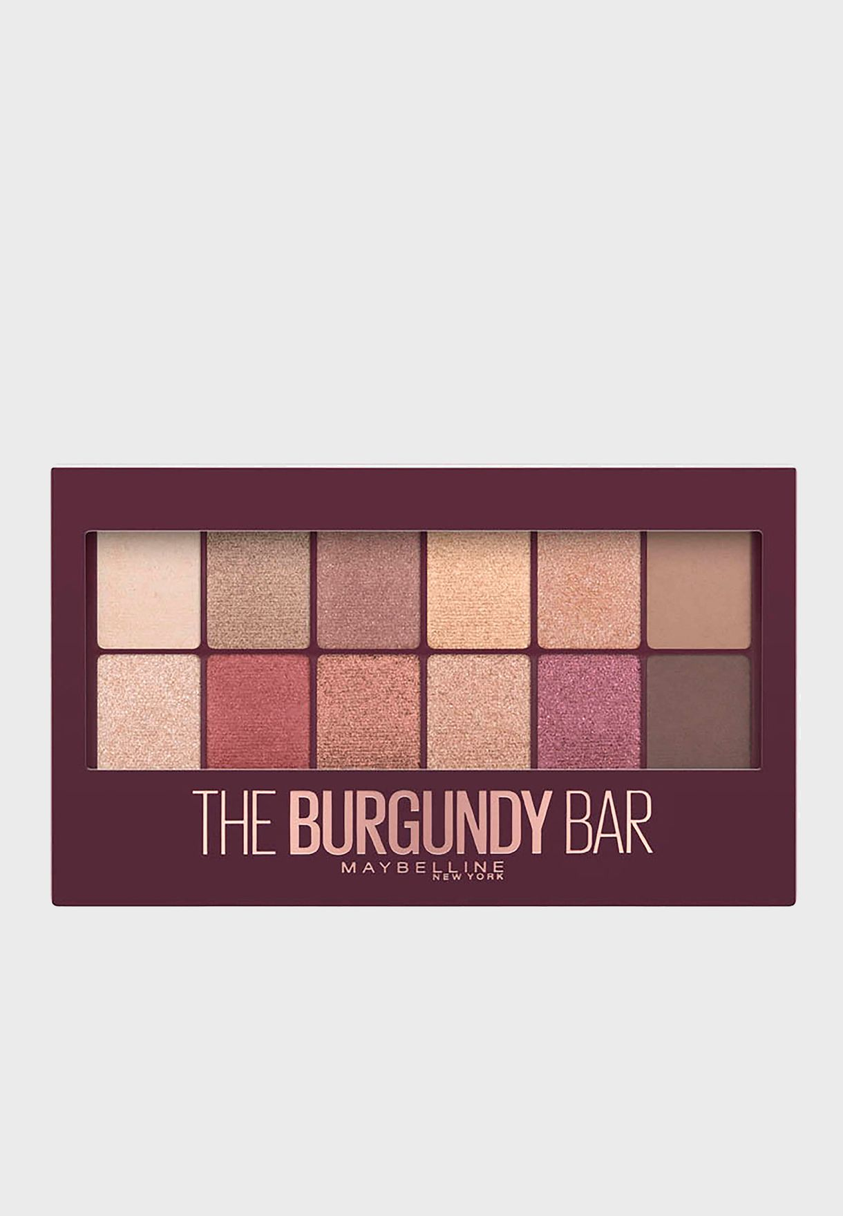 The Burgundy Bar Eye Shadow Palette