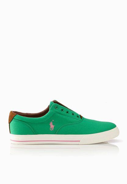 Polo Ralph Lauren Vito Ne Green Sneakers - Men