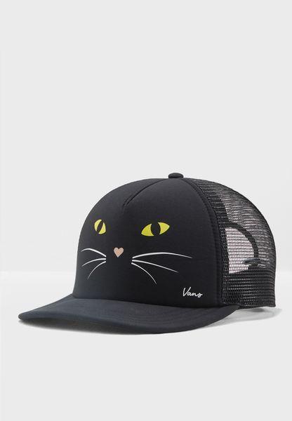 كاب بطبعة قطة