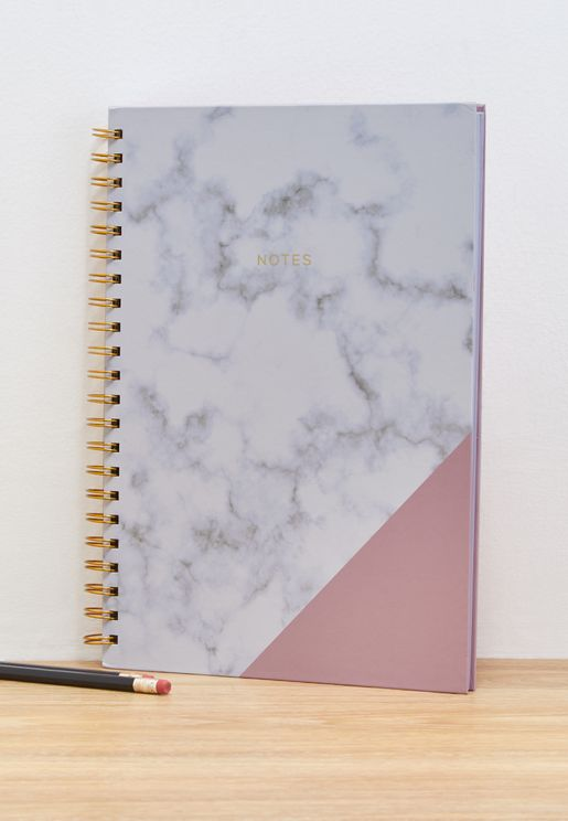 A4 Marbled Notebook