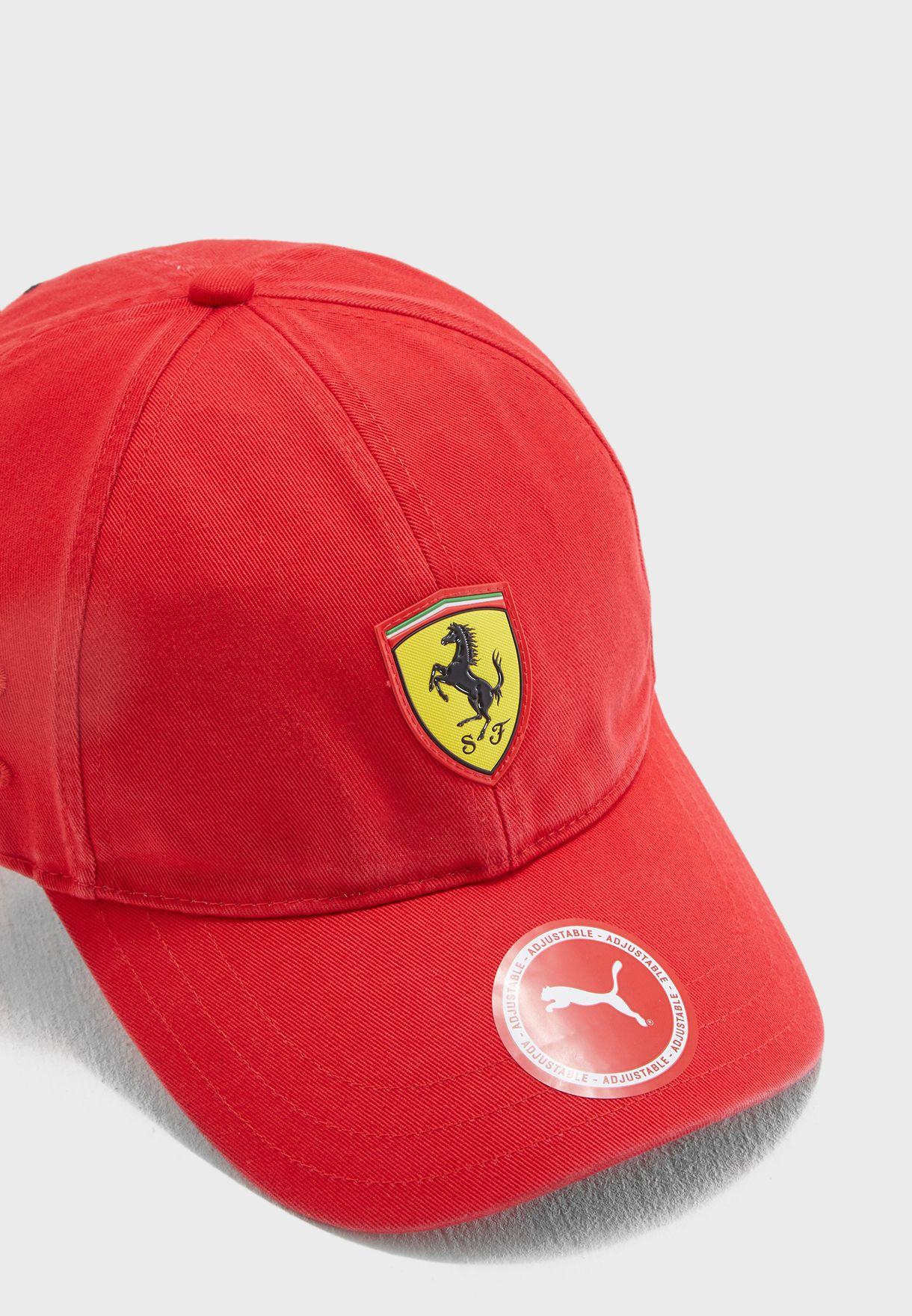 83d1e1a84599d Shop PUMA red Ferrari Baseball Cap 2177401 for Men in UAE - PU020AC83BTW