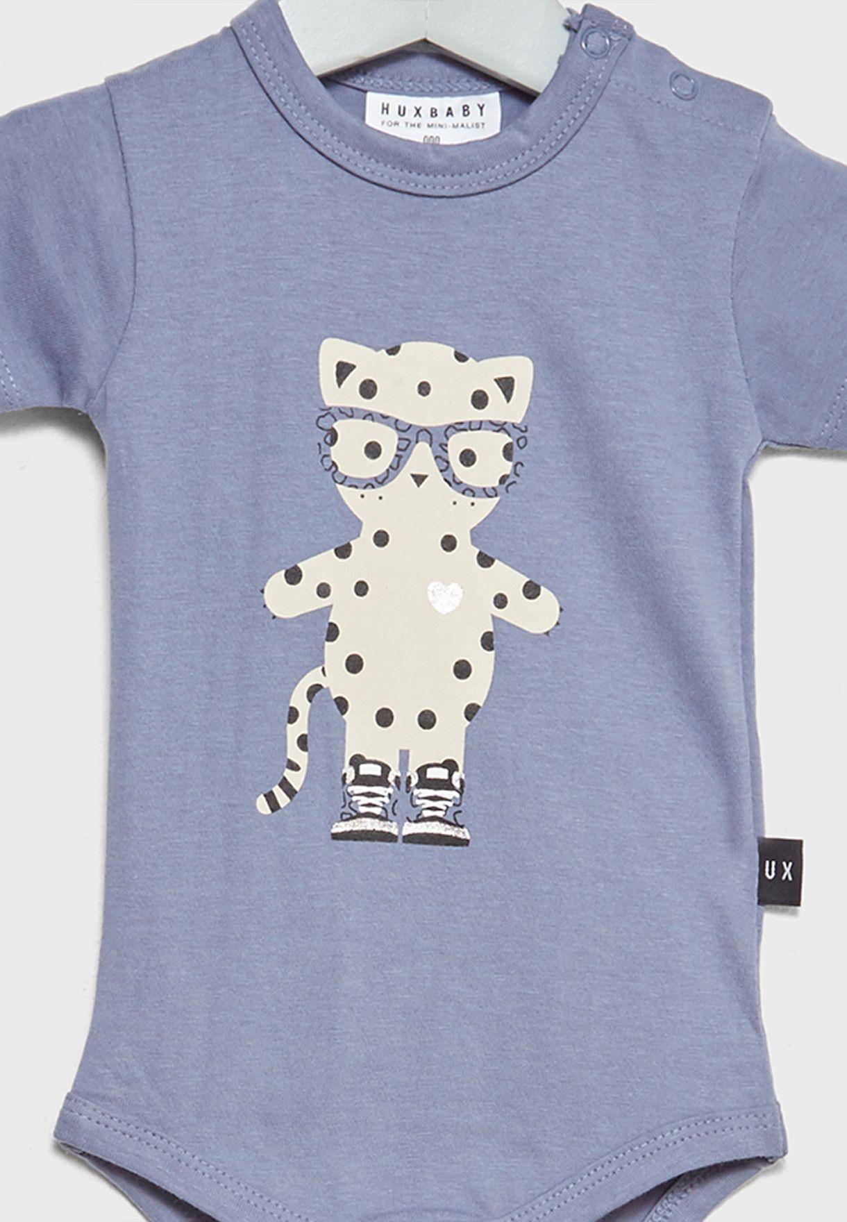 Infant Leopard Bodysuit