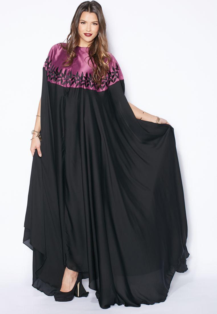 Ihram Kids For Sale Dubai: Shop Hayas Closet Multicolor Embroidered Cape Abaya For