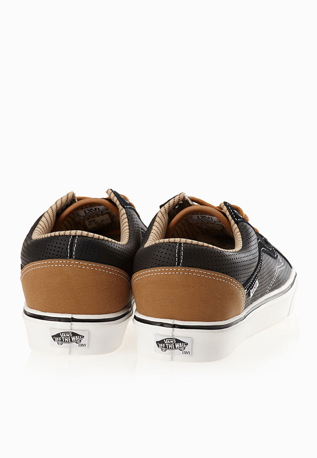 Shop Vans black Old Skool Lite Sneakers for Men in Kuwait ... 59a83766d9