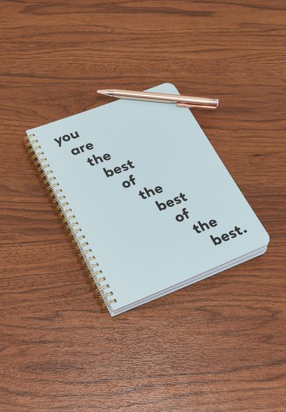 Mini You Are The Best Rough Draft Notebook