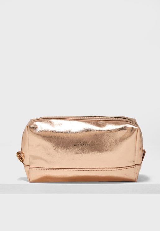 Medium Square Make-Up Bag