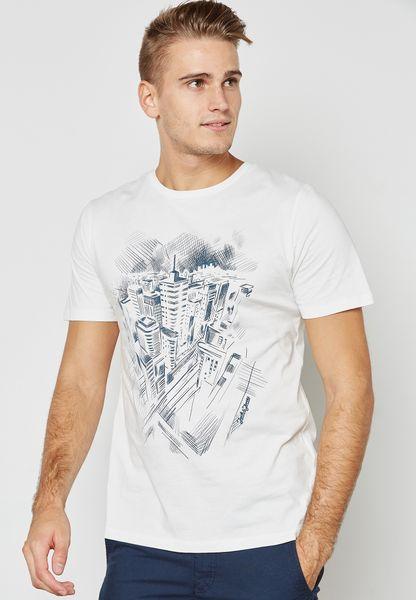 Tigcity Printed T-Shirt
