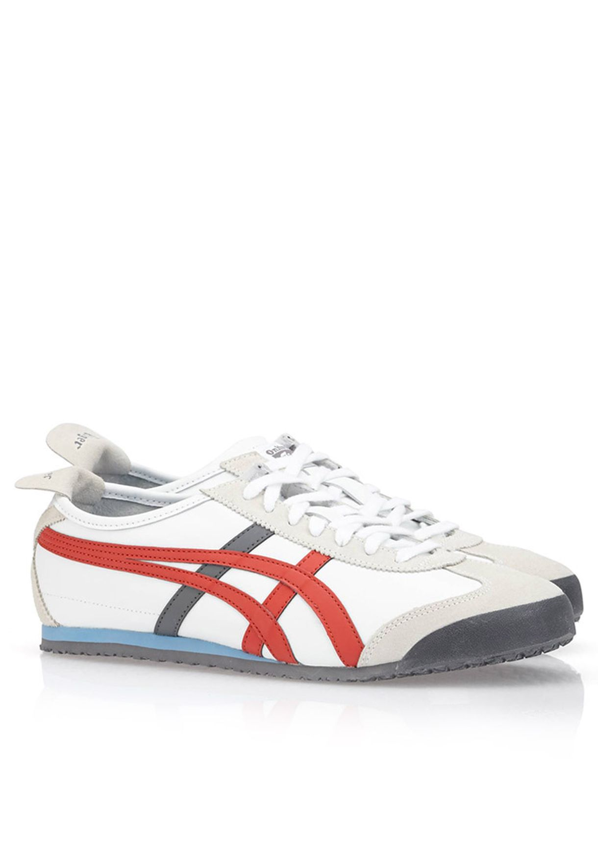 8712341b1c0 Shop Onitsuka Tiger white Mexico 66 Sneakers for Men in Kuwait ...