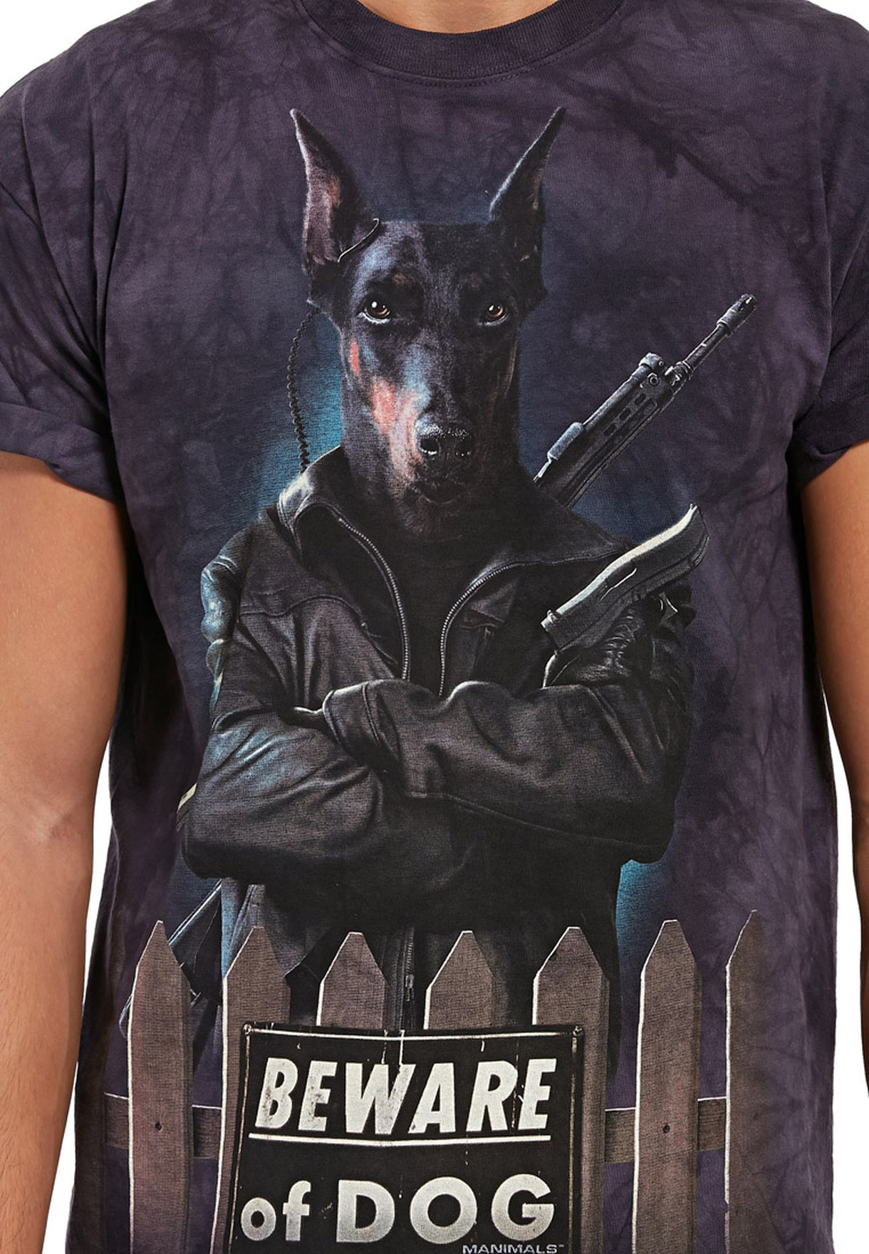 fddbdddf652e Shop The mountain blue Guard Panzer T-shirt for Men in Bahrain ...
