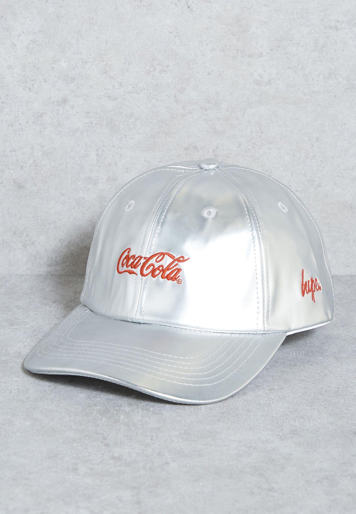 efe6d0c8b6c Shop Hype grey Coca Cola Dad Hat HYXCOKE34 for Men in Kuwait - HY661AC83HGM