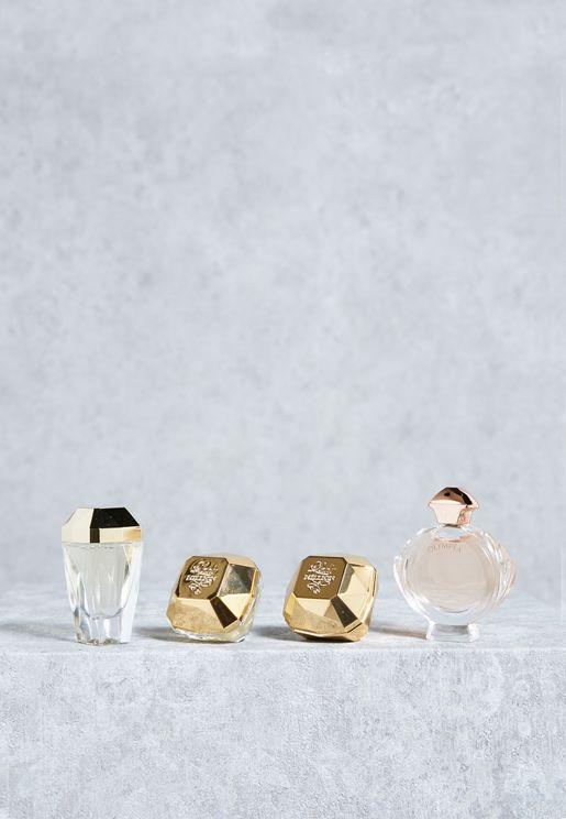 4 Pack Feminine Miniature