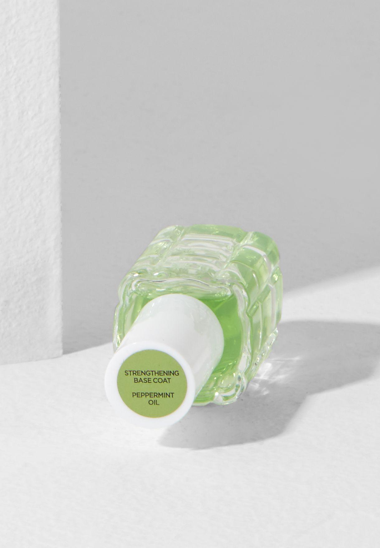 La Manicure L'Huile Nail Polish Strength Peppermint