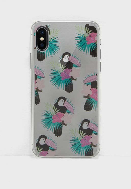 Toucan iPhone X Case With Screen Protector