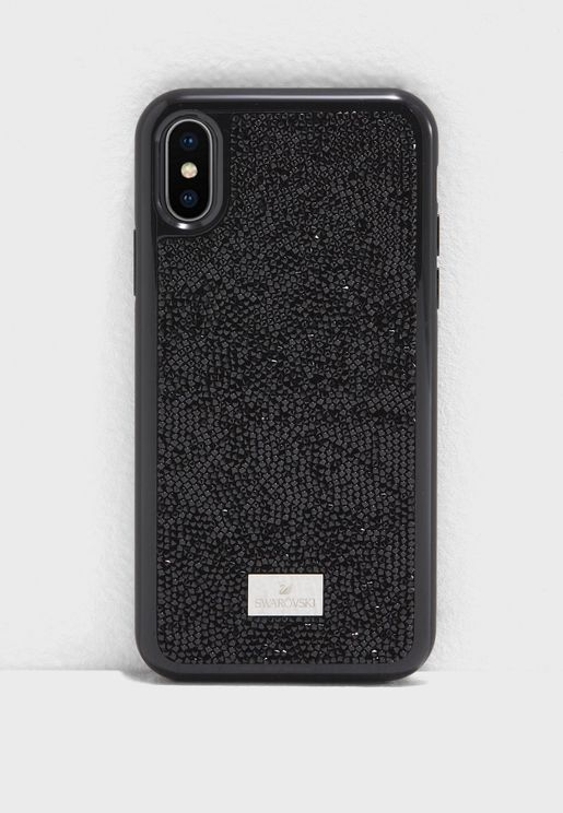 Glam Rock With Bumper iPhone X Case