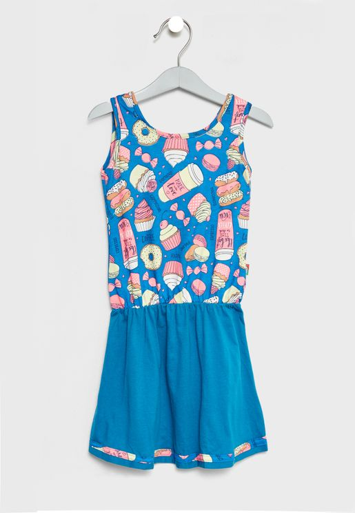 Little Printed Dress