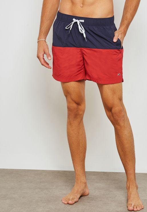 Colourblock Shorts