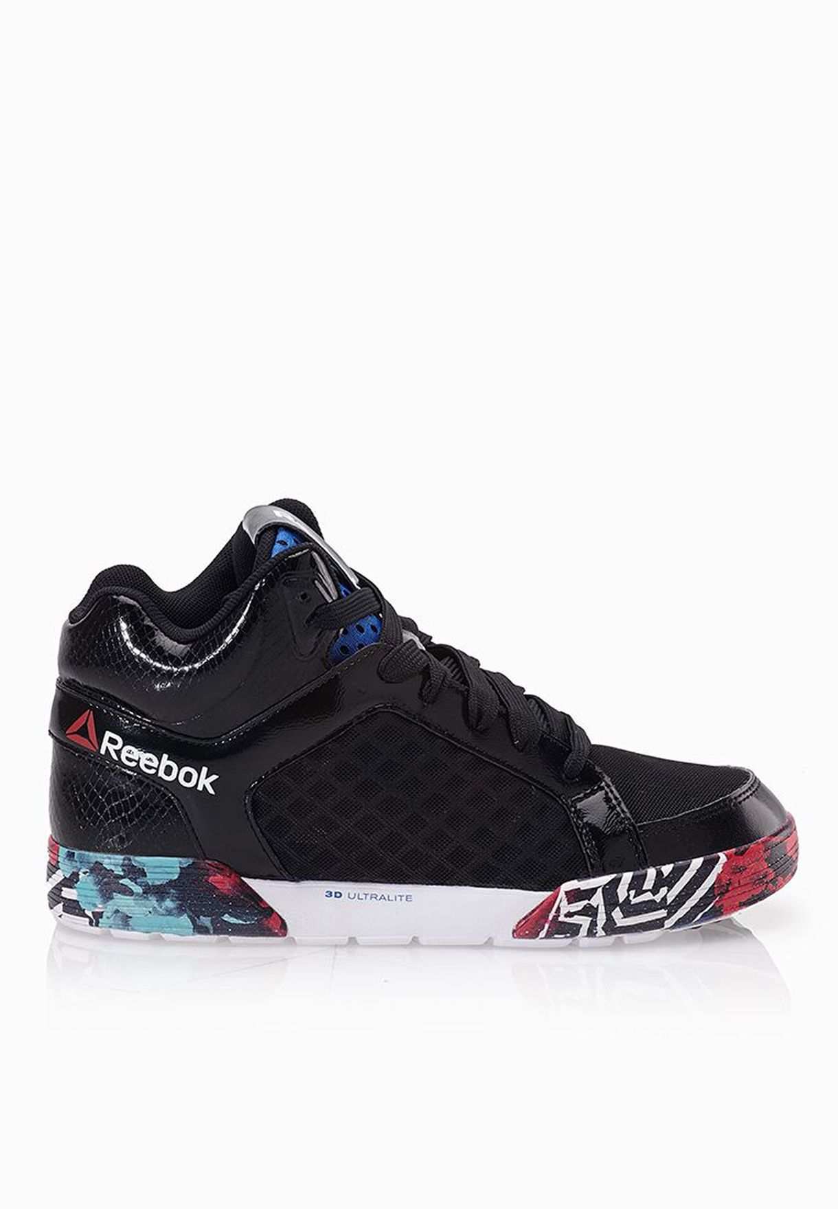2c6a3363ff6 Shop Reebok black Dance Urtempo Mid 2.0 Sneakers M47819 for Women in Kuwait  - RE019SH83WVS