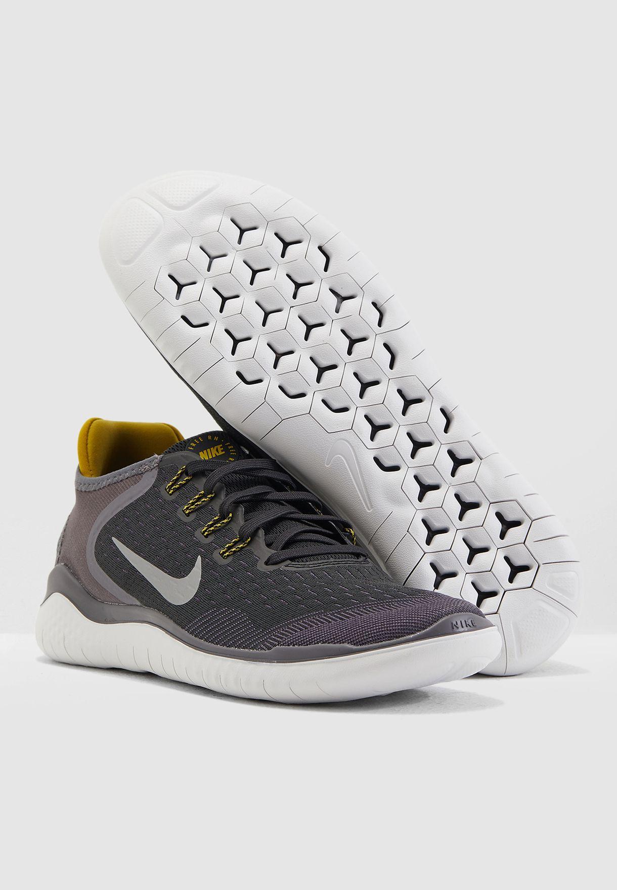 244f7c1420e3 Shop Nike black Free RN 2018 942836-009 for Men in UAE - NI727SH83HHC