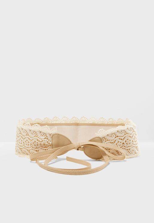 Lace Corset Belt