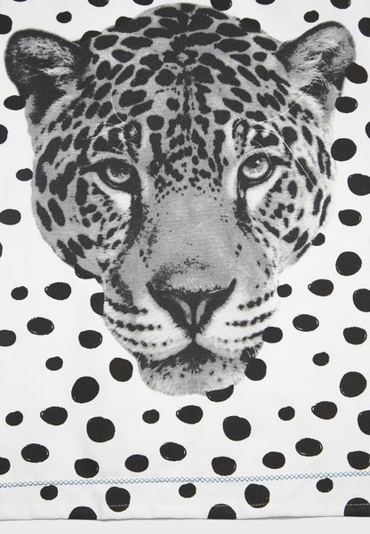 Leopard Face Tea Towel