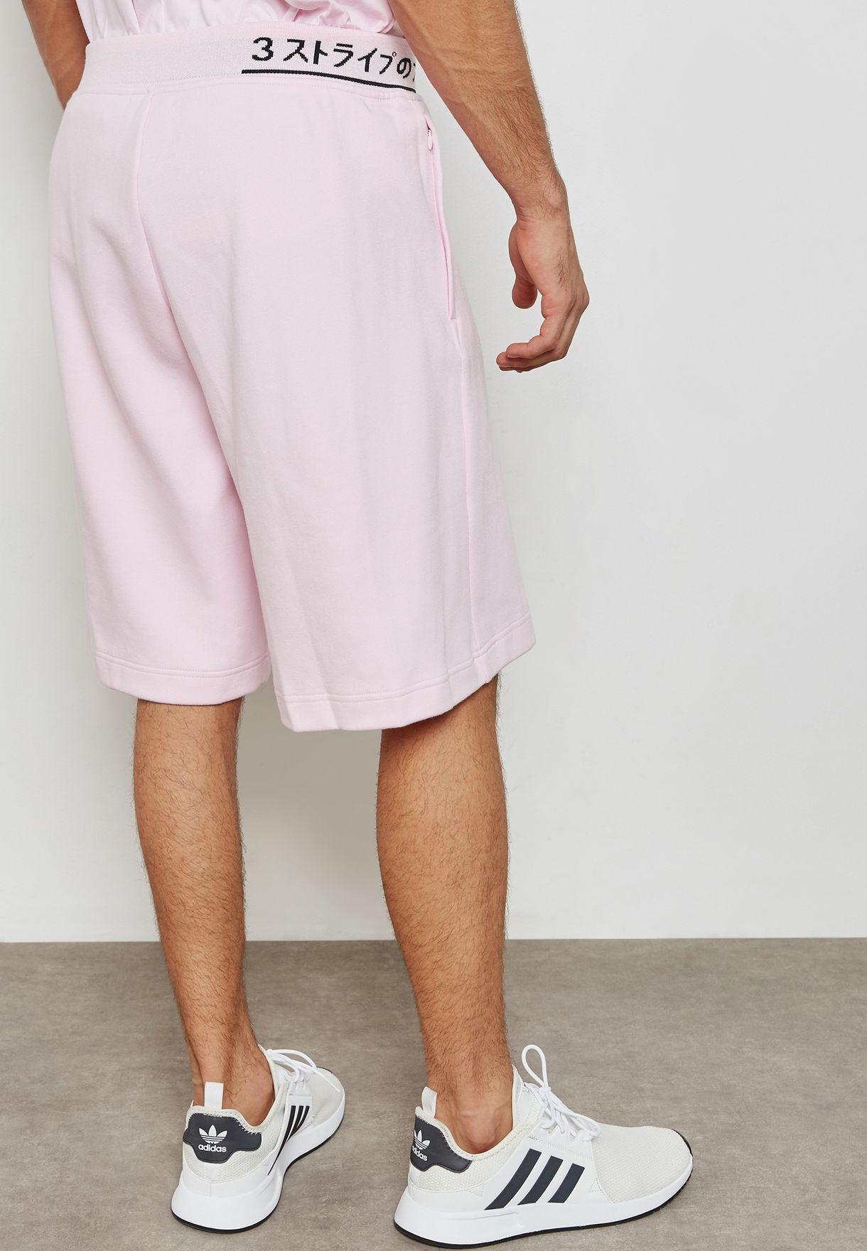 e74c7b348b74f Shop adidas Originals pink NMD Shorts CE1611 for Men in UAE ...