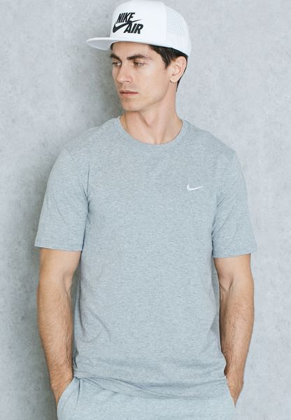 Embroidery Swoosh T-Shirt