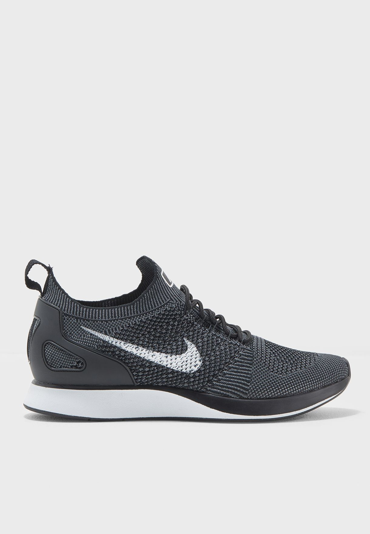 a7aefbed2e94 Shop Nike black Air Zoom Mariah Flyknit Racer 918264-001 for Men in ...