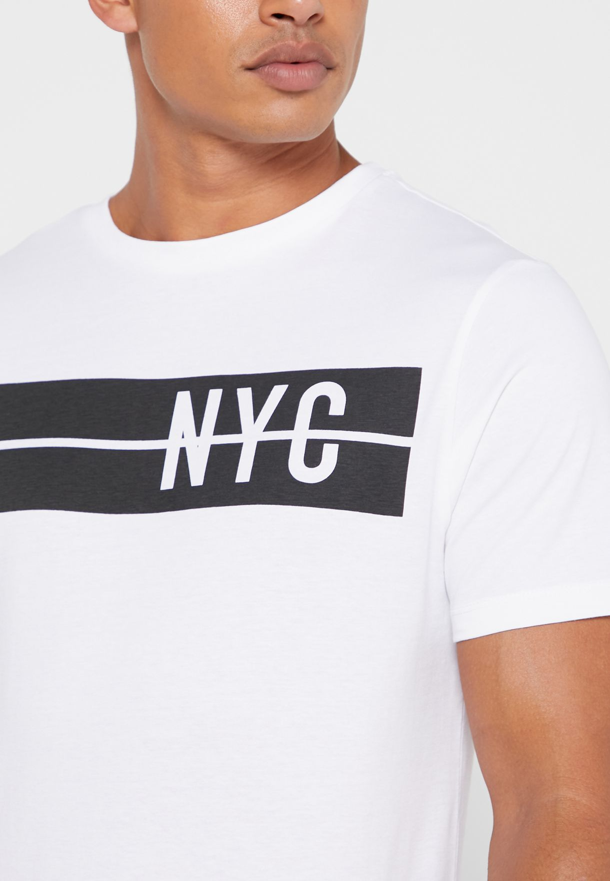 NYC Crew Neck T-Shirt