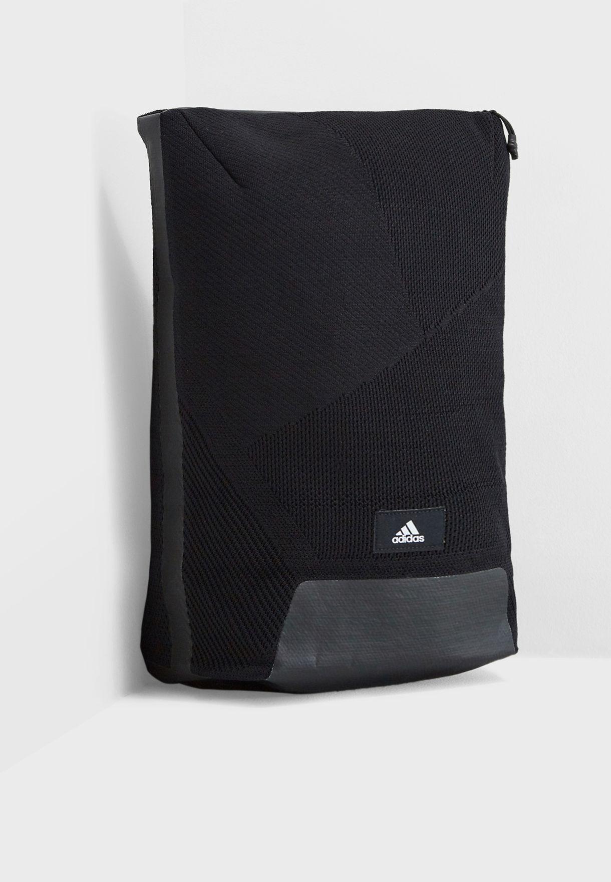 df0bdda2f3 Shop adidas black Z.N.E Parley Backpack CY6060 for Men in UAE ...