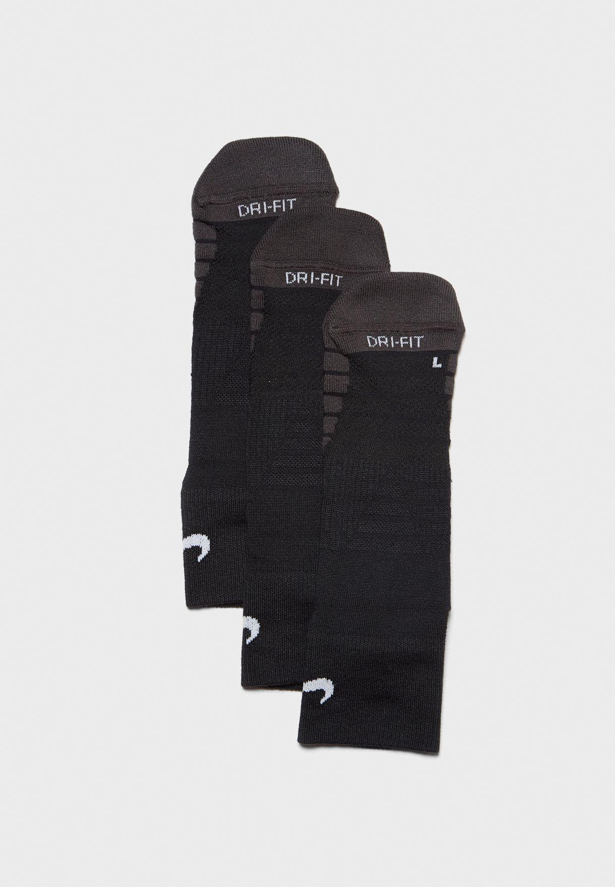 3 Pack Dri FIT Quarter Socks