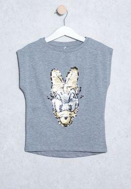 Youth Disney Hilde Printed T-Shirt