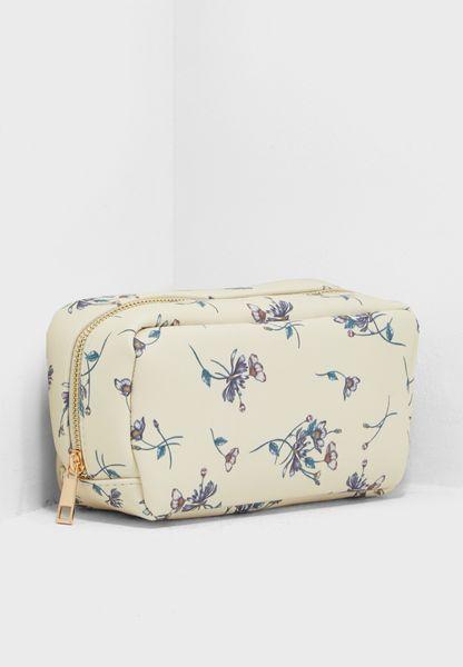 Daisy Large Makeup Bag