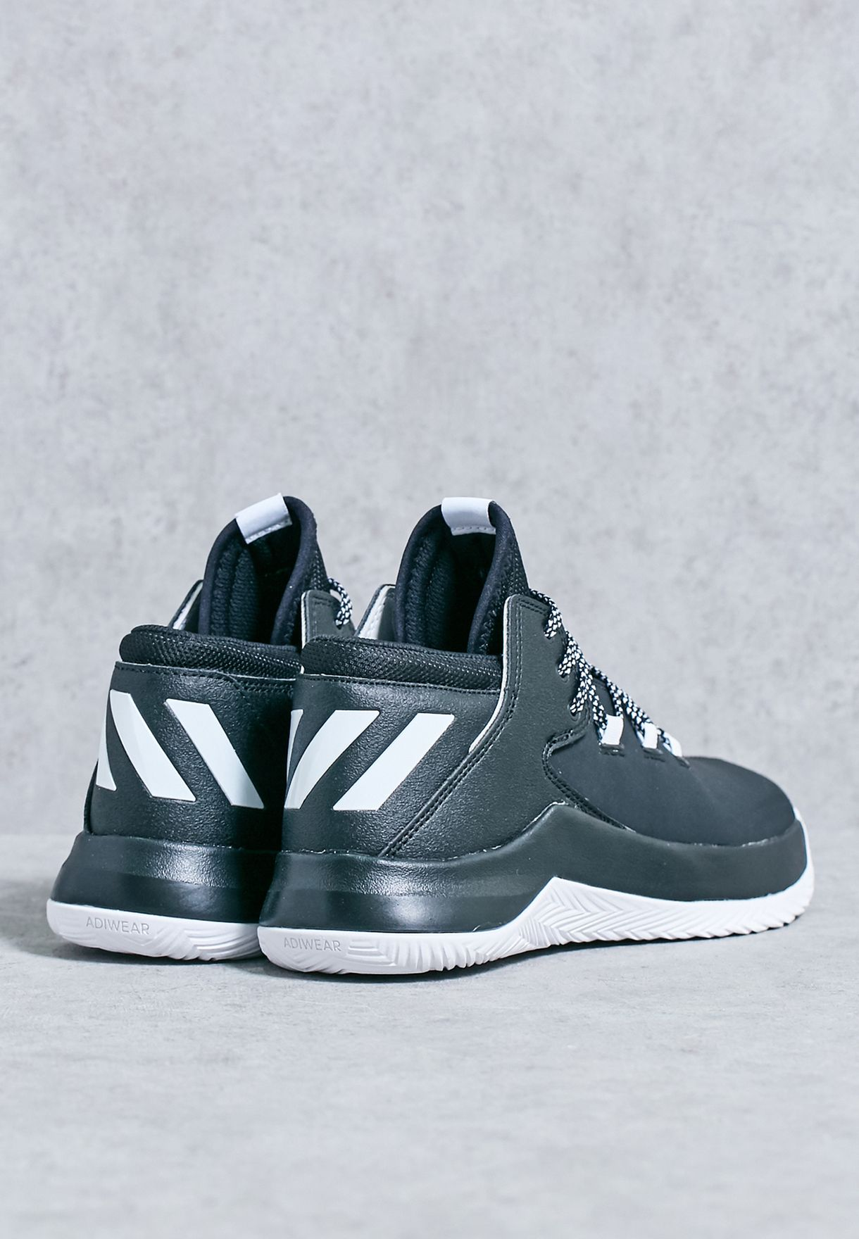 74f68b46684 Shop adidas black D Rose Menace 2 B42634 for Men in UAE - AD476SH83LGM