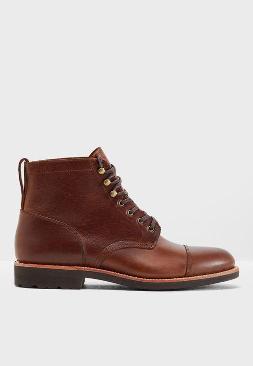 Kenton Cap Toe Boot