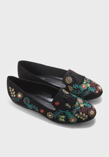 Lafty Printed Loafer With Slip On