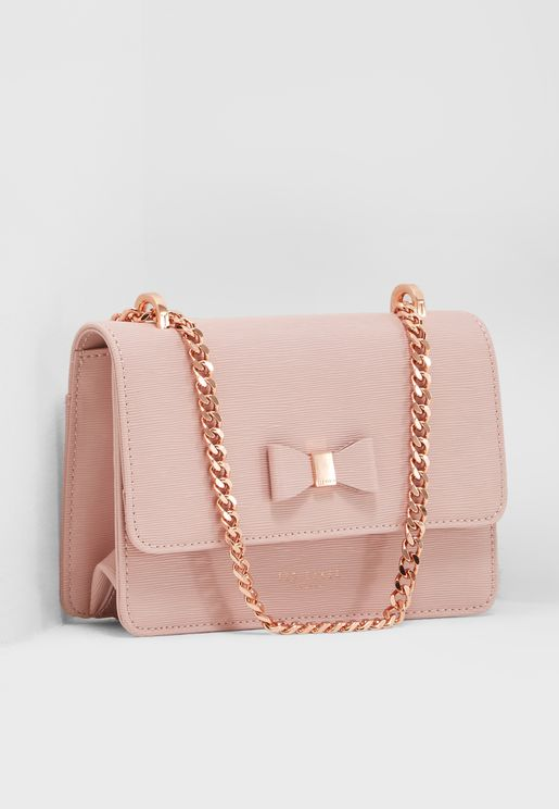 Doriis Bow Detail Crossbody