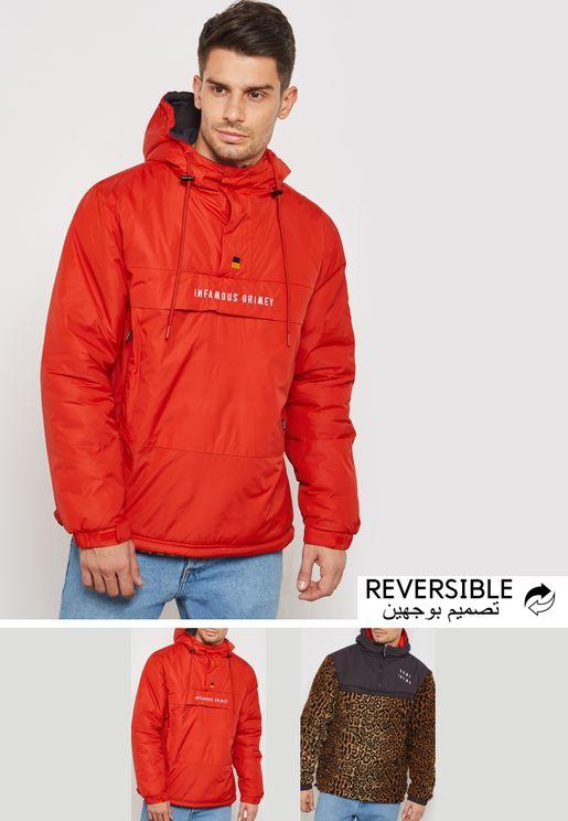 Anorak Reversible Hoodie