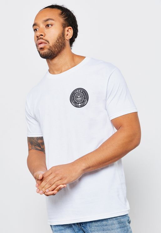 Obey Skull and Wings T-Shirts