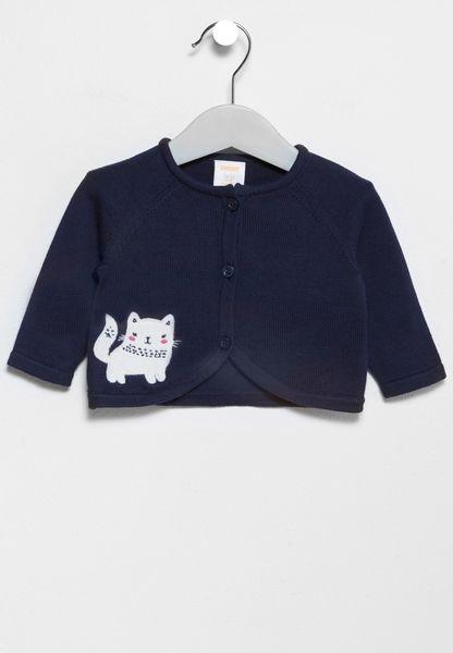 Infant Cat Cardigan