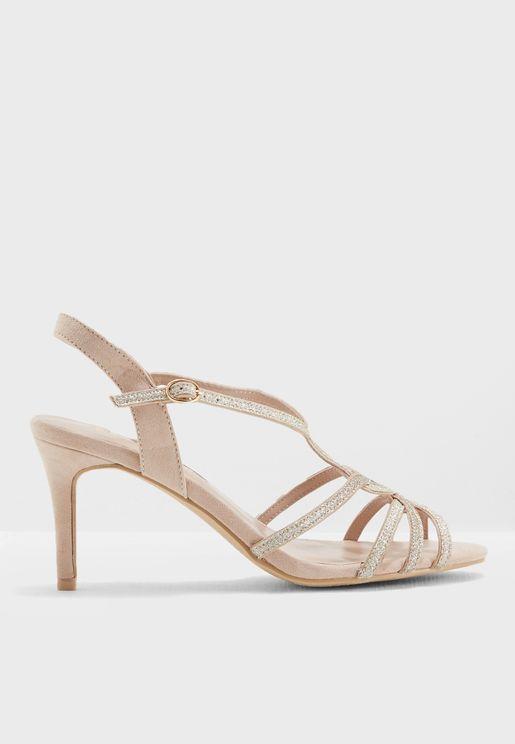 Bounty Glitter Heels Sandals