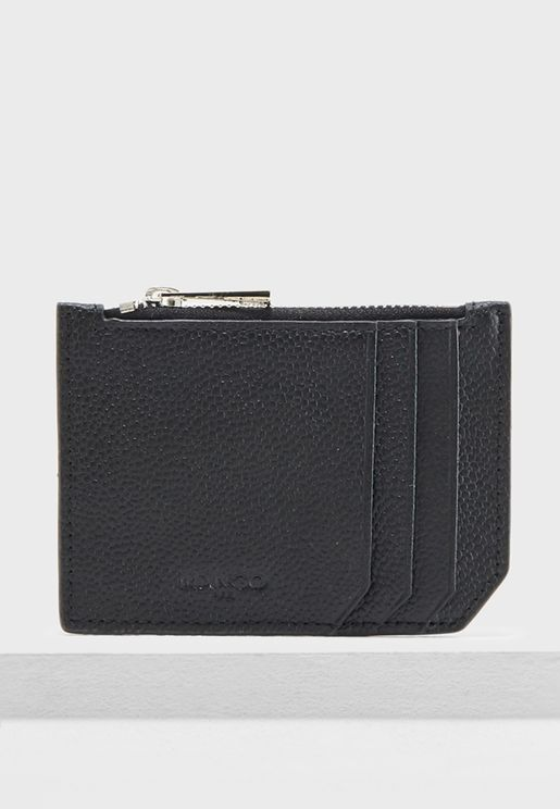 Top Zip Card Holder