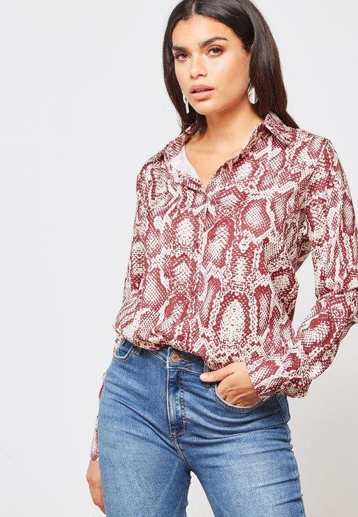 Snakeskin Shirt